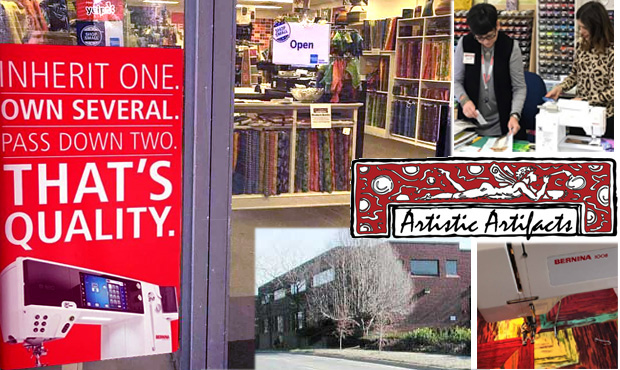 Artistic Artifacts, an authorized BERNINA dealer
