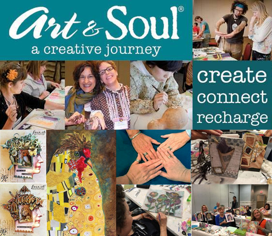 Attend an Art & Soul Creative Retreat and stimulate your creative energy!