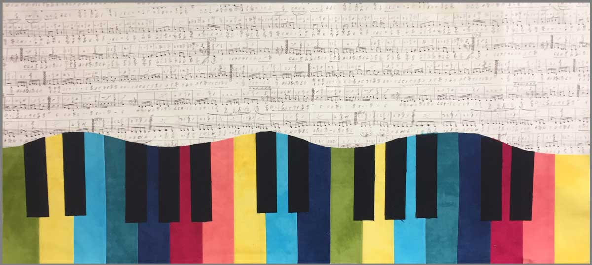 Color Keys by Artistic Artifacts, their 2018 Row by Row Experience pattern