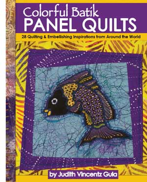 Cover of Colorful Batik Panel Quilts by Judy Gula