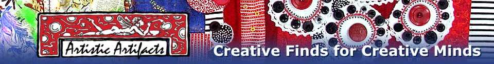 Artistic Artifacts -- Creative Finds for Creative Minds