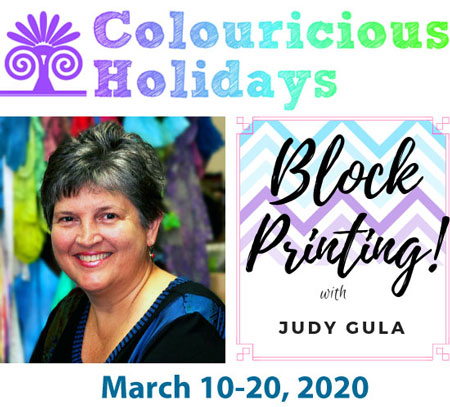 Click to learn more about Judy Gula's 2020 Block Printing Tour of India