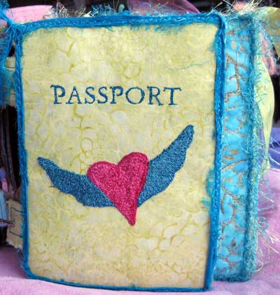 Liz Kettle's Passport reference book