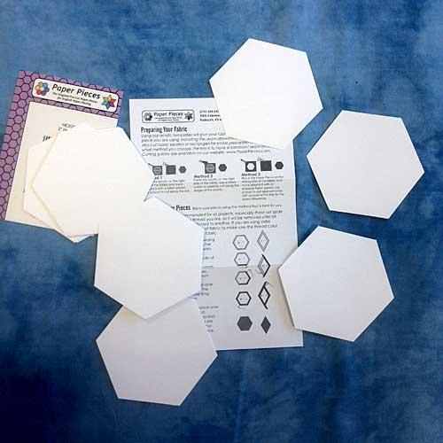 Precision Cut 2 in  Paper Hexagons