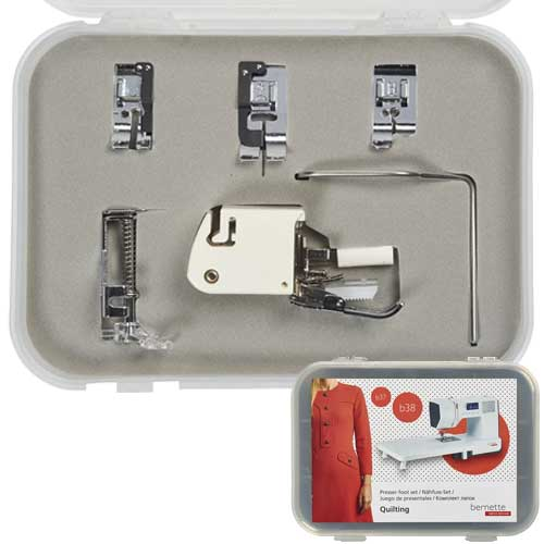 Bernette 6 Piece Quilting Foot Kit for B37 and B38