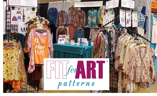 Fit for Art Patterns enable you to sew wearable art with a great fit!