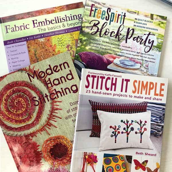 Mixed Media and Fiber Arts Books available at Artistic Artifacts