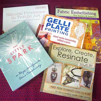 Mixed Media and Fiber Arts Books on sale at Artistic Artifacts