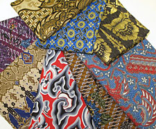 Indonesian-Style Printed Fabric