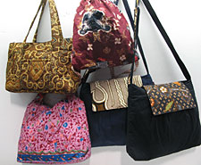 Beautiful, handmade Surabaya Bags from Batik Tambal