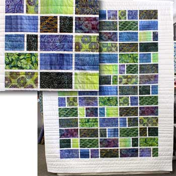 Artistic Artifacts/Batik Tambal Quilt Kits, Pattern & Fabric Included)