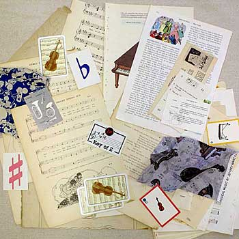 Vintage Paper Collage Packages