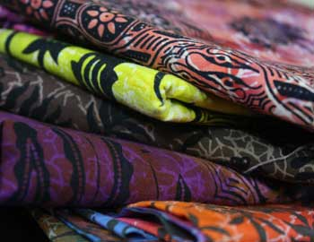 Combanasi fabric, exclusive in North America to Batik Tambal