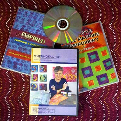 Mixed Media and Fiber Arts DVDs on sale at Artistic Artifacts