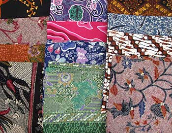 New and vintage sarongs from Batik Tambal