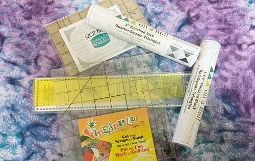 Additional rulers and products