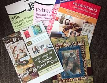 Prepared Fabrics for Images