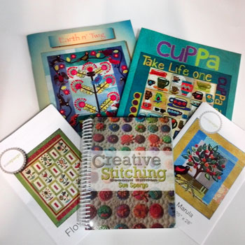 Sue Spargo Books and Patterns