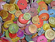 Tentakulum fabric buttons