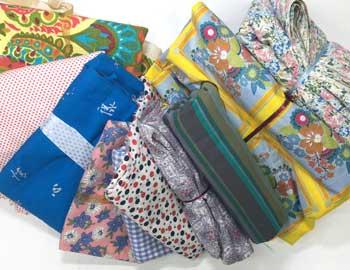 Vintage Fabrics and Linens